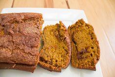 Sugar-Crusted Biscoff Pumpkin Bread