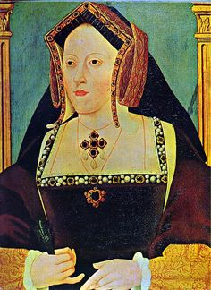 Catherine Aragon. First wife of Henry VIII.