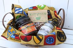FRG Family Welcome Baskets- can customize it for our boat & local items!!