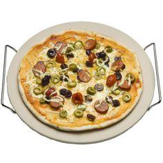 Met een pizzasteen maak je van een barbecue een echte steenoven bbq