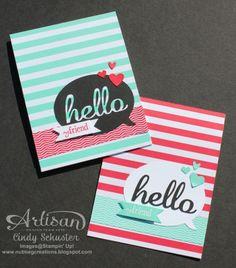 Nutmeg Creations's Cindy Schuster - Hello Fresh Print E-Cutter card with My Digital Studio