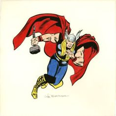 Thor by John Buscema (Marvel)