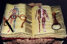 Medical School Book Cake of The Day