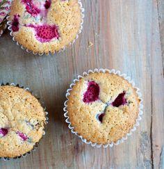 Gluten Free Lemon-Raspberry Muffins