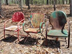 Hometalk :: How To Paint Old And Rusty Metal Outdoor Chairs rusti chair, rusty metal, pet parent, outdoor chairs, metal chair outdoor, metal chairs painted, porch, garden, how to paint metal chairs