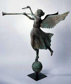 fame weathervane via American Folk Art Museum
