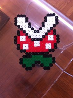 Nintendo hama on pinterest perler beads super mario for Plante mario