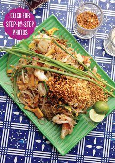 Pad Thai from bon appetit