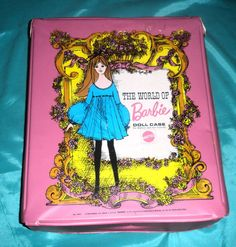 Cases to put all your Barbie stuff in. I had this case