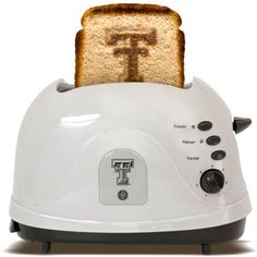 Texas Tech University Red Raiders - brand your bread with this toaster