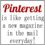 Pinterest and my love for magazines...