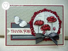 by Amy White, White House Stamping: Dynamic Poppies...