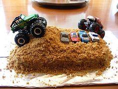 Monster Truck Cake- For DANE !