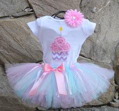 tutu skirts, cupcak bodysuit, birthday parties, birthday girl, 5th birthday, sweet surpris, 1st birthdays, birthday outfits, moulin rouge