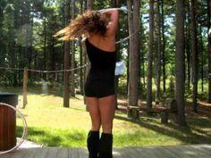 Great hula hooping.