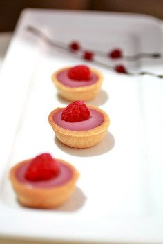 Raspberry tartletes