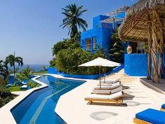 Costa Careyes Castle Mi Ojo - Costa Careyes Oceanfront Villa - Villa Rentals, just gorgeous!