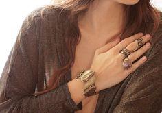 Arrowhead cuff bracelet by SANKTOLEONOJEWELRY on Etsy