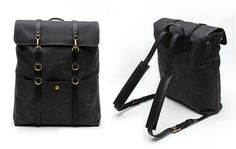 Mismo Limited Edition Waxed Canvas Backpack