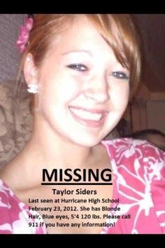 Missing since February 23, 2012