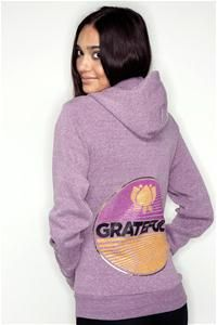 I have this in a tee-shirt. Love it! Grateful - Spiritual Gangster clothing...love their hoodies