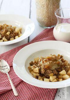 Apples and Cinnamon Breakfast Quinoa | Skinnytaste