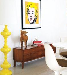 Pop Art Style Interior Design