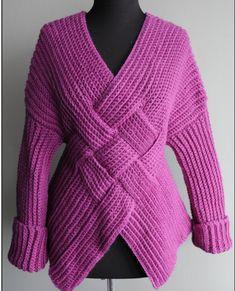 Crochet Mongolian Warrior Pullover By Nicky Epstein - Purchased Crochet Pattern - (nickyepstein)