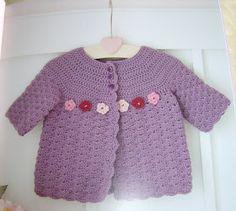 Enthusiastic crochetoholic: Crocheted Baby Clothes book