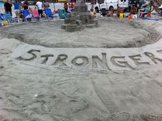 Stronger than the Storm sculpture