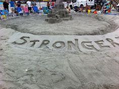 Stronger than the Storm sculpture