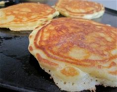 Gourmet Magazine's classic pancake recipe . . . folding whipped egg whites into the batter is the secret!