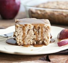 "Best Apple Cake: ""A winner! This is a moist cake with a wonderfully easy caramel glaze."" -Trishinomaha"
