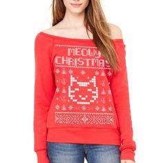 MEOWY CHRISTMAS ugly...