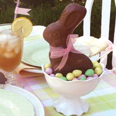 Easter brunch.  Would be cute to have several of these scattered on the buffet table.