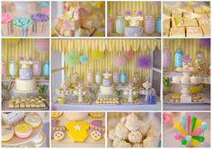 Fairyfloss Cotton Candy Baby Shower with REALLY CUTE IDEAS via Kara's Party Ideas | Kara'sPartyIdeas.com #CottonCandy #Fairyfloss #Party #Ideas #SugarCoatedMama (6) cotton candy, cotton candi, baby shower ideas, theme parties, fairi, ideas party, parti idea, babi shower, baby showers