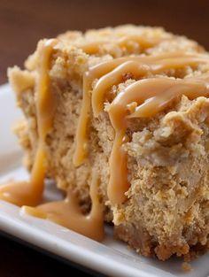 Pumpkin Cheesecake Bars #pumpkin #bars