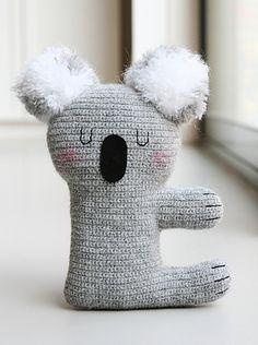 Ravelry: Kiki the Koala pattern by Claudia van K.FREE