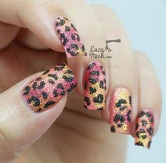 Tropical Leopard Print