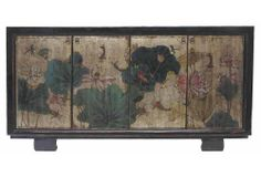 Anton Sideboard, Silver/Multi by Madera Home - Asian / Oriental / Chinoiserie / Chinese Antiques