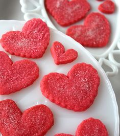 Heart Shortbread Cookies~ Super quick and easy