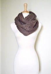 circles, etern infin, dream closet, seasons, infinity scarfs, taupe, scarves, chunki knit, infin loop