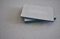 Steves Business Cards by Steves , via Behance
