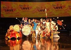 In Vegas I would go to circ du soleil Love, the Beatles performance.  #ridecolorfully  #bucketlist
