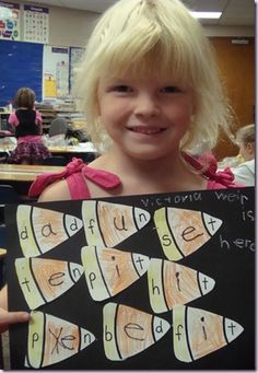 Cute way to practice CVC words in fall