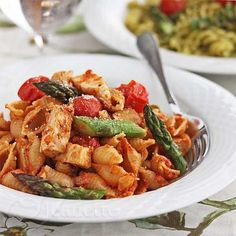 One Pot Wonder: Everything you need for a healthy, wholesome family dinner is in this pasta with chicken and veggies recipe.