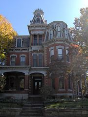 Victorian district...Chancellor House....Parkersburg, WV
