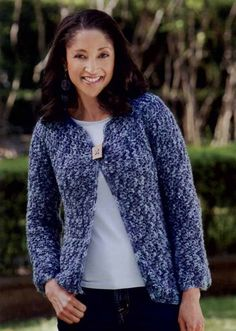 A sample pattern from the 1-2-3 Skein Crochet Book