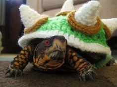 Bowser Crochet Sweater Turns Your Turtle Into Super Mario's True Nemesis