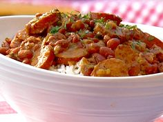 Red Beans and Rice Recipe : Patrick and Gina Neely : Food Network